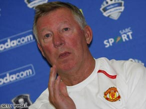 Ferguson says that the inflated transfer market has put his plans on hold.