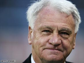 Former England manager Bobby Robson has died after a long fight with cancer.