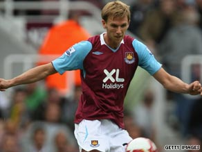 West Ham defender Davenport had emergency surgery after being stabbed in his legs.