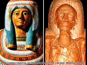 The mummy known as Meresamun was entombed nearly 3,000 years ago.