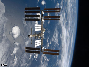 Debris from the collision poses no threat to the International Space Station.