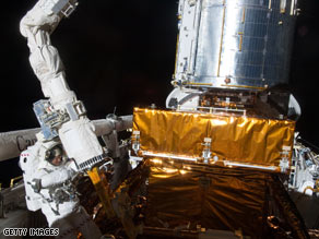 Atlantis launched May 11 for NASA's final repair visit to the Hubble Space Telescope.