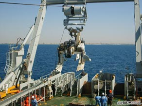 Seacom cable in the Red Sea