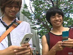 A survey says 15 percent of phone users in Japan use their phones to make payments.