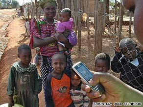 Workers in Kenya use EpiSurveyor for the first time nationwide during this year's children's health week.