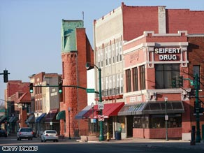 Elkhart, Indiana, has become the poster child for the nation's economic downturn.