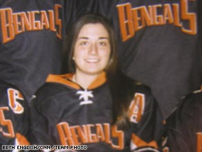 Madeline Loftus, 24, was killed aboard Flight 3407. She was returning to Buffalo for a reunion hockey game.