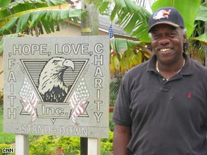 Roy Foster's facility, Stand Down House, has helped about 900 male veterans since 2000.