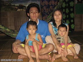 Boo Htoo and his family lived at the Maela Refugee Camp before being resettled in Phoenix, Arizona.