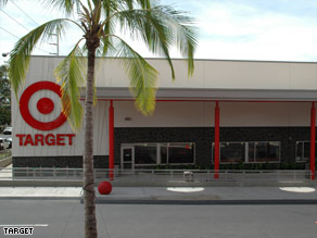 One of Target's two new Hawaii stores awaits its Sunday grand opening.