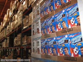 Kellogg's ended its Michael Phelps endorsement, so it sent two tons of cereal with his face on it to a food bank.