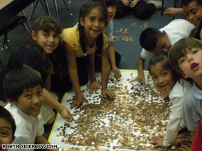 That's a bunch of pennies, but these students will have to lay out a whole lot more!