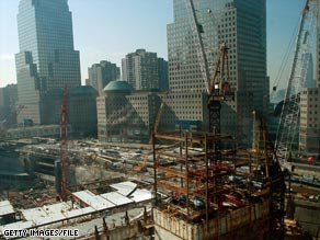 The One World Trade Center skyscraper is expected to be completed in late 2013.