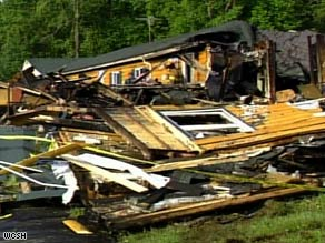 The building of the topless coffee shop was completely destroyed by a fire Wednesday morning.