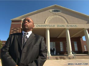 Willie Thornton, 48, is the dropout prevention coordinator at Greenville High School in rural Alabama.