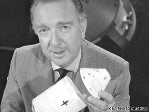 Cronkite's enthusiasm for the space program was evident in his broadcasts.