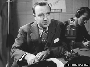 Walter Cronkite occasionally butted heads with executives at CBS News, his former producer says.