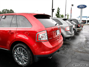General Motors, Ford Motor and Nissan  reported that their sales were up from a year ago.