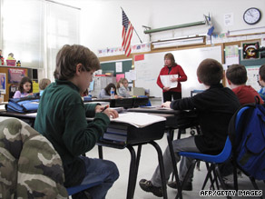 The National Center for Education Statistics found U.S. students placed below average in math and science.