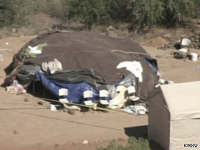 Two people died and were 19 injured after spending up to two hours inside this 'sweatbox' at an Arizona resort.