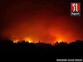 Drop in humidity, high temperatures could hamper efforts to contain the Lockheed Fire in Santa Cruz County.