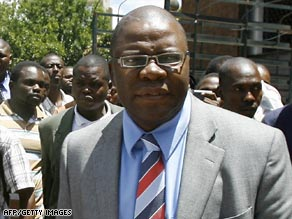 Tendai Biti will be in charge of fixing Zimbabwe's broken economy.