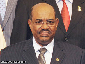 Al-Bashir is the first sitting head of state to be charged by the permanent war crimes court.