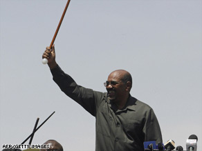 Aid groups have been told to leave Sudan after an arrest warrant was issued for President Omar Hassan al-Bashir.