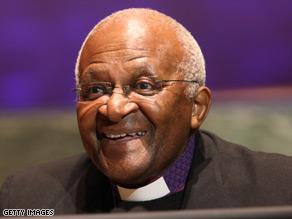 Archbishop Desmond Tutu said Monday he would boycott the conference.