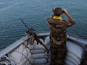 Somalia's prime minister says the international naval patrols are having little effect on the piracy problem.