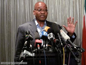 ANC leader Jacob Zuma is expected to be South Africa's next president.