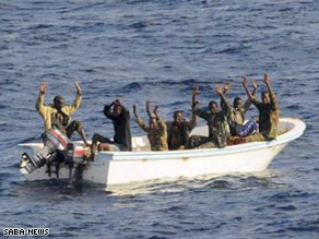 11 pirates are arrested by Yemeni security forces in an operation last month.