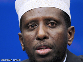 Sheikh Sharif Sheikh Ahmed was recently appointed Somalia's transitional president.