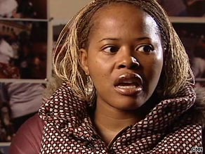 Andile Gaelesiwe was raped twice before she was 20 and is  now trying to change the culture in South Africa.