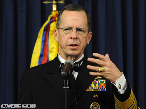 Adm. Michael Mullen says the tactics used to fight terrorism may help in Mexico's drug battle.