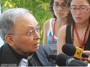 Archbishop Don Jose Cardoso Sobrinho excommunicated the doctors who performed the child's abortion.