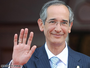 Alvaro Colom's administration welcomed international assistance with the investigation.