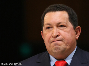 Venezuelan President Hugo Chavez's government takes over a Cargill plant for the second time in recent months.