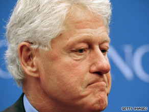 In a speech on Saturday, former president Bill Clinton urged people to embrace who they are.