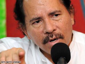Nicaragua President Daniel Ortega expressed disappointment in U.S. President Barack Obama's decision.