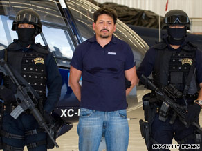 The attacks occurred after the arrest of Arnoldo Rueda Medina, a ranking member of La Familia Michoacan.