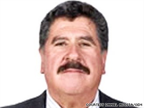Hector Ariel Meixueiro Munoz, 53, was mayor of Namiquipa, a small town in the state of Chihuahua.