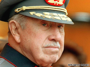 Nearly 2,300 people disappeared during the rule of Augusto Pinochet, 1973-1990, say government reports.