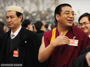 Delegates have begun to gather for China's annual meeting of its National People's Congress.