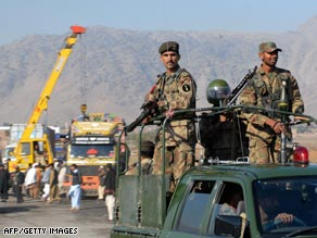 Jamrod is a key town on NATO's supply route from Pakistan into Afghanistan.