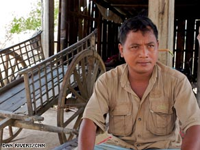 Norng Champhal was just 8 or 9 when he was taken to Tuol Sleng prison. He is one of the few survivors.