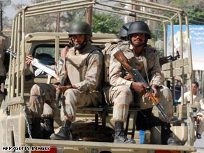 Pakistan has deployed paramilitary troops to a district taken over by the Taliban.