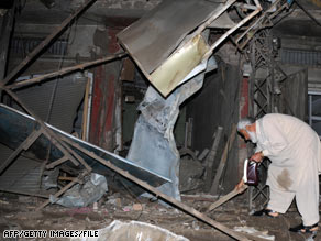 The number of terrorist attacks in Pakistan, like this bombing in April, has more than quadrupled from 2006 to 2008.