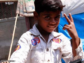 Indian authorities demolished the home of 'Slumdog Millionaire' child actor Azharuddin Mohammed Ismail.