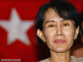 Aung San Suu Kyi was first detained in 1989 after mass protests against the military government.